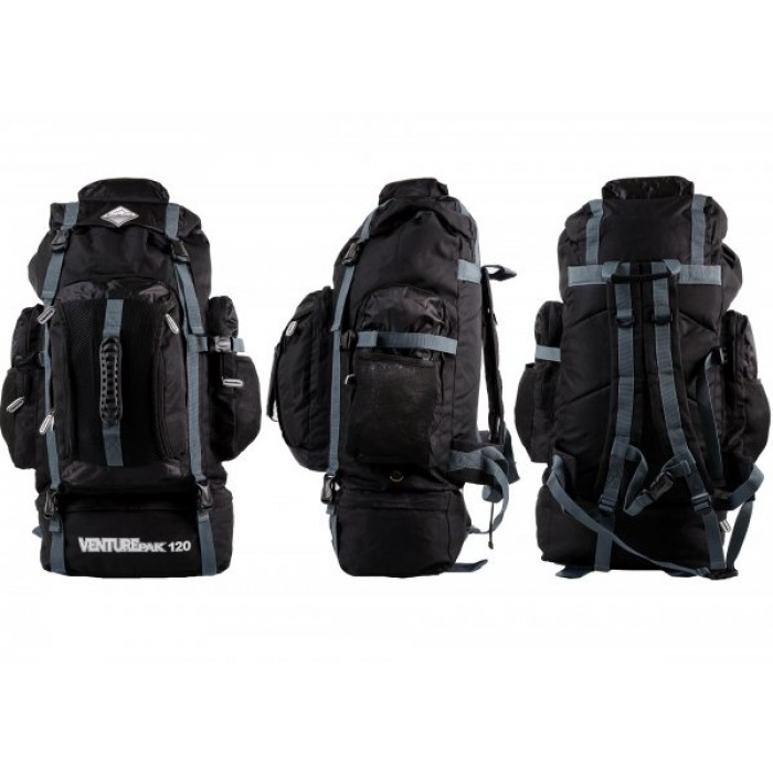 JBBP175 BORDERLINE VENTUREPAK 120 BLACK/GREY
