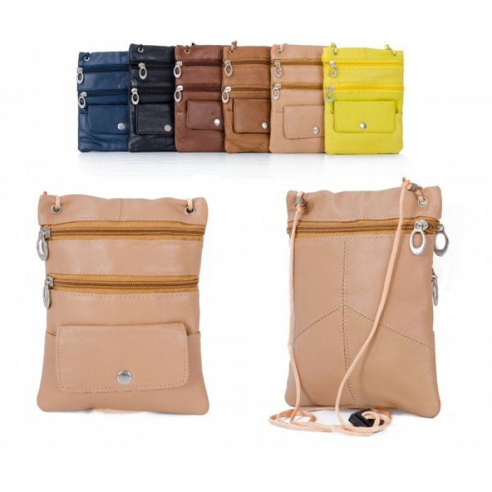 905 TAN LEATHER/PU CROSSBAG