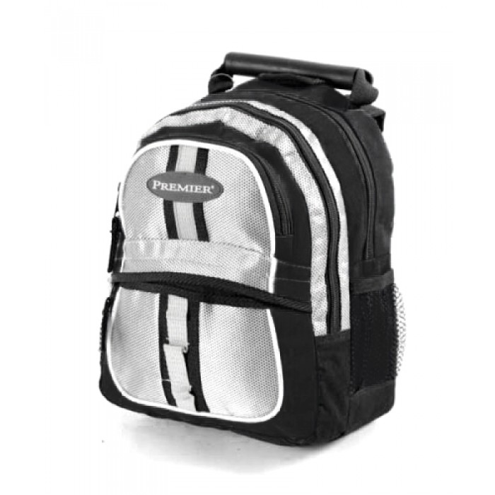 ABP-12 BLACK REFLECTIVE BACKPACK