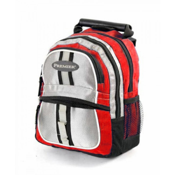 ABP-12 RED REFLECTIVE BACKPACK