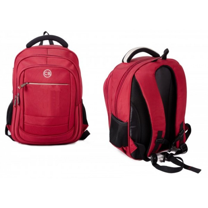 BP-830S-RE RED BACKPACK W/LAPTOP SLEEVE