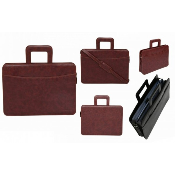 B101 BROWN TASSIA LAPTOP FILE CONFERENCE FOLDER