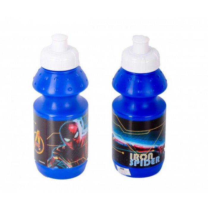 4016-8323, SPORTS BOTTLE IRON SPIDERMAN 350ML