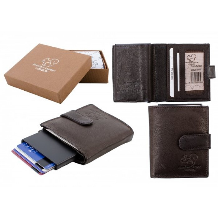 RL 9003A RFID C-SECURE CASE WALLET BROWN