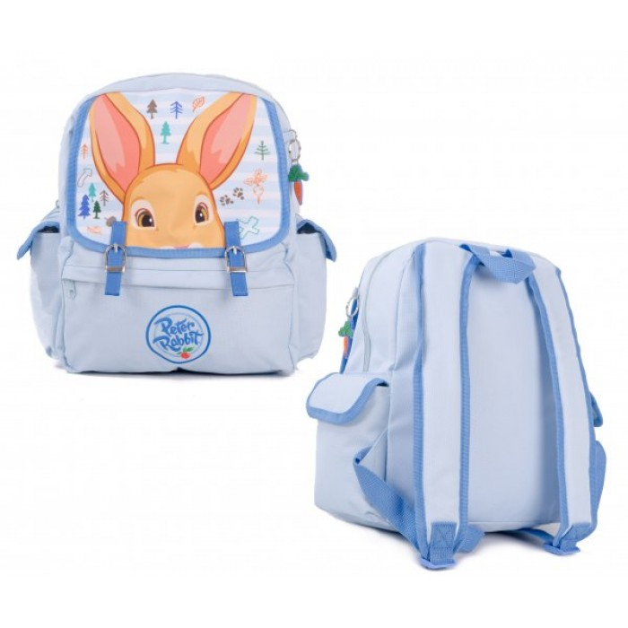 00359 PETER RABBIT BABY BLUE SQUARE BACKPACK