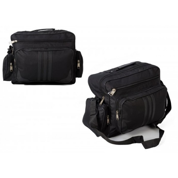 TB-100 BLACK HOLDALL W/ 3 POCKETS £4.25