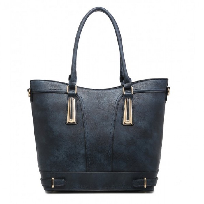 F6190 BLUE SHOULDER BAG