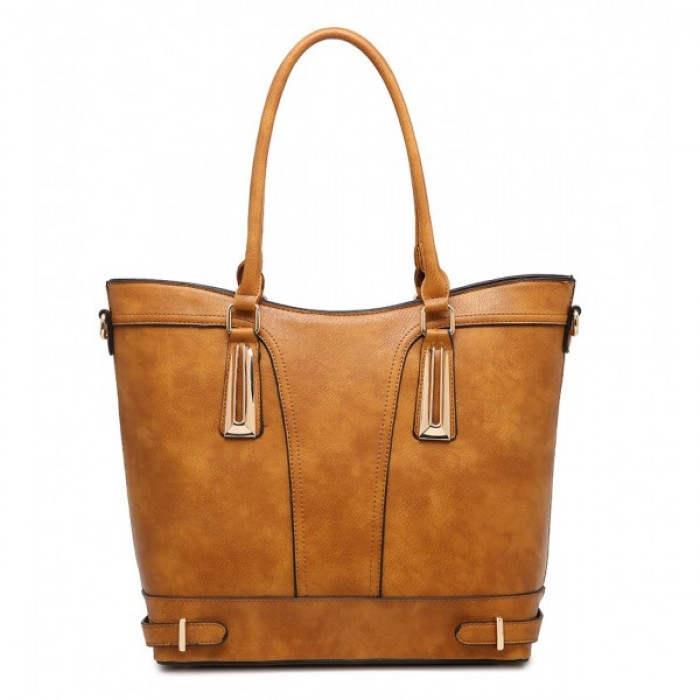 F6190 BROWN SHOULDER BAG