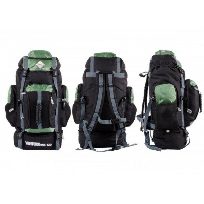 JBBP175 BORDERLINE VENTUREPAK 120 BLACK/GREEN/GREY
