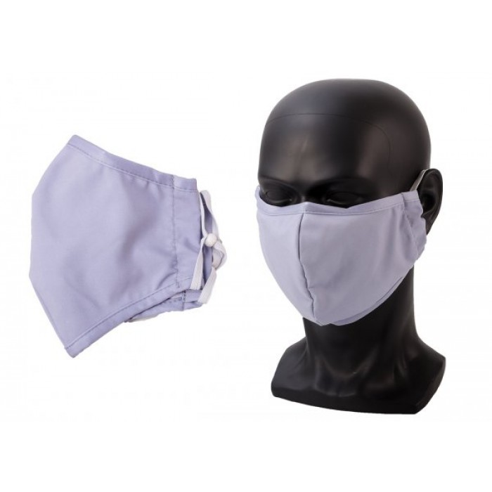 ANTI-DUST COTTON MASK FACE COVER UNISEX GREY
