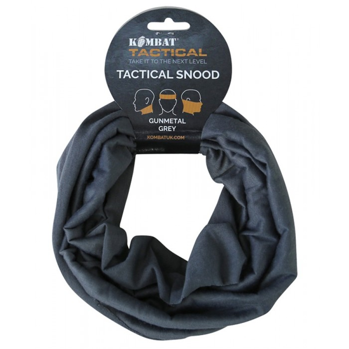 TACTICAL GUNMETAL GREY SNOOD