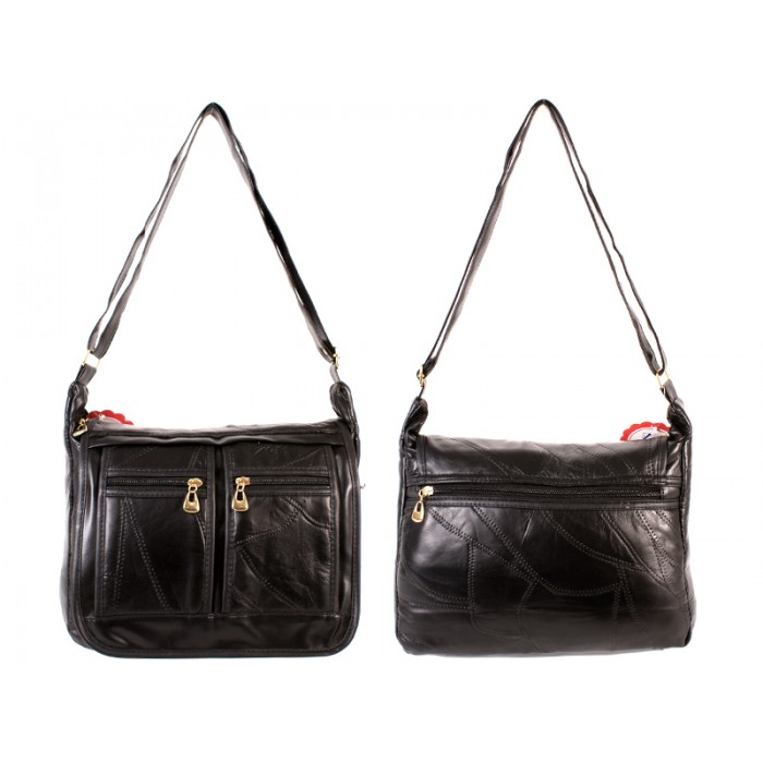 HB-26 PATCHWORK BLACK