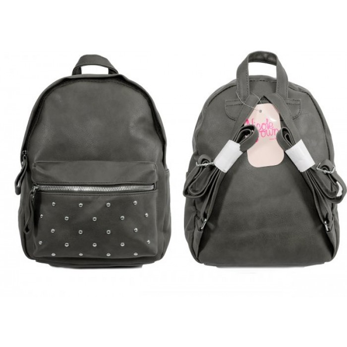 JBFB202 GREY PU BACKPACK