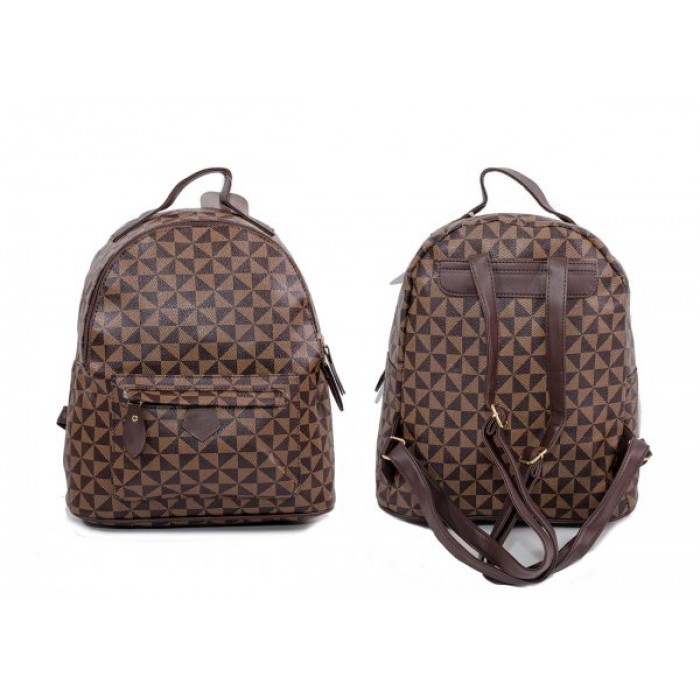 JBFB319 BROWN NICOLE BROWN BACKPACK