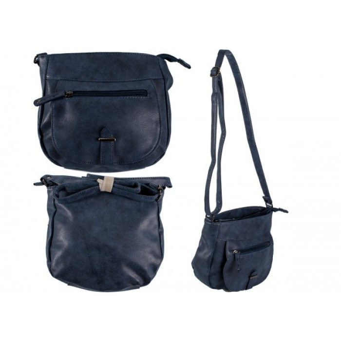JBHB2561 NAVY PU HANDBAG NICOLE BROWN