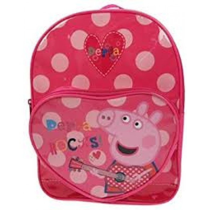PEPPA001203 PEPPA ROCKS DELUXE BACKPACK
