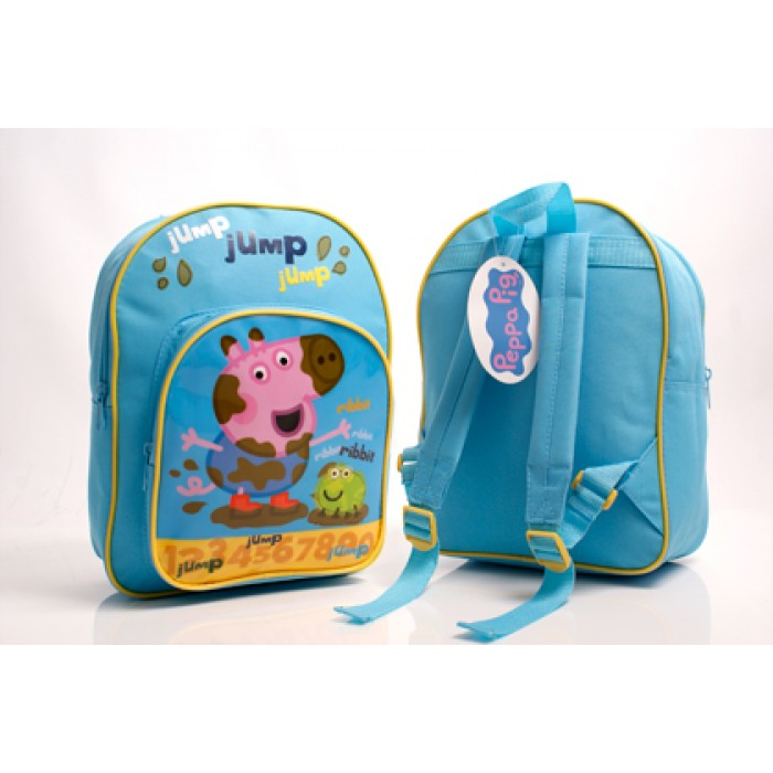 PEPPA001238 PEPPA JUMP DELUXE BACKPACK