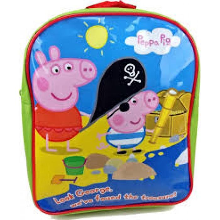 PEPPA001250 PEPPA BACKPACK PIRATE TREASURE
