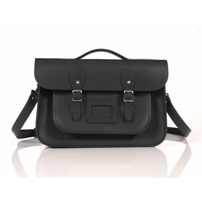 RL14 BRIEFCASE ENGLISH BLACK