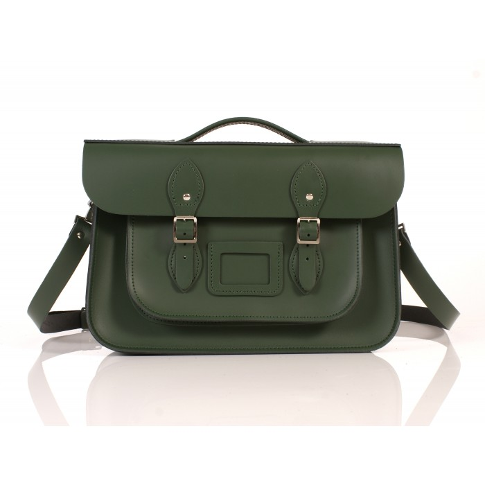 RL14 BRIEFCASE ENGLISH GREEN