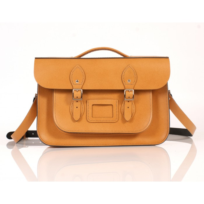 RL14 BRIEFCASE ENGLISH TAN