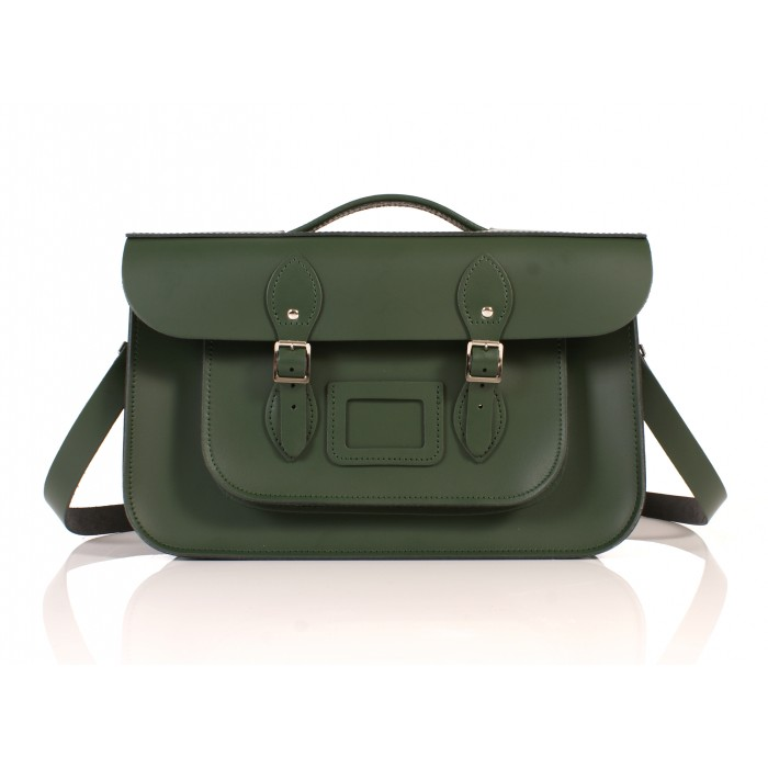 RL15 BRIEFCASE ENGLISH GREEN