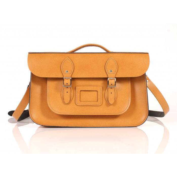 RL15 BRIEFCASE ENGLISH TAN