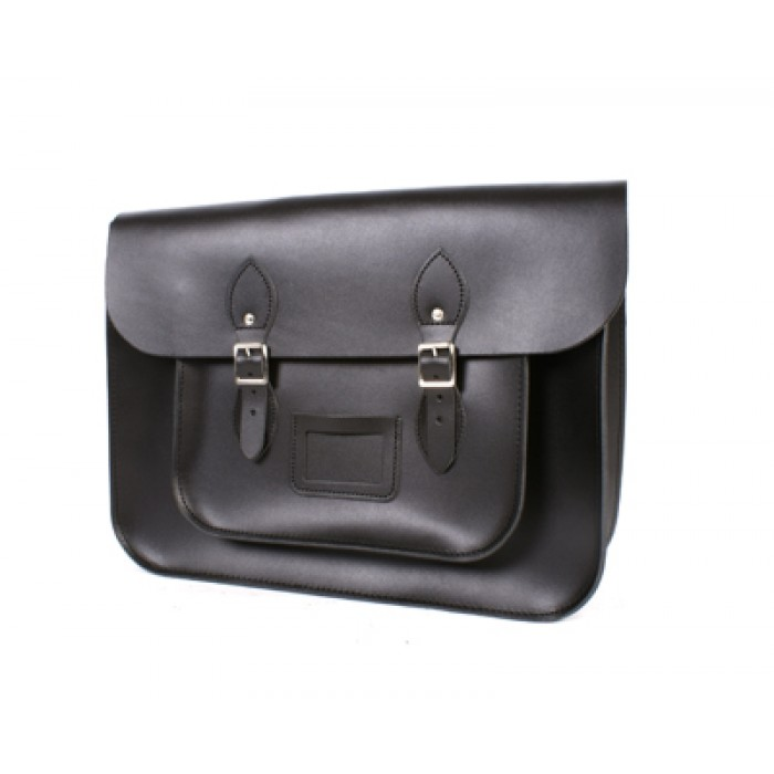 SATCHEL BLACK 14""