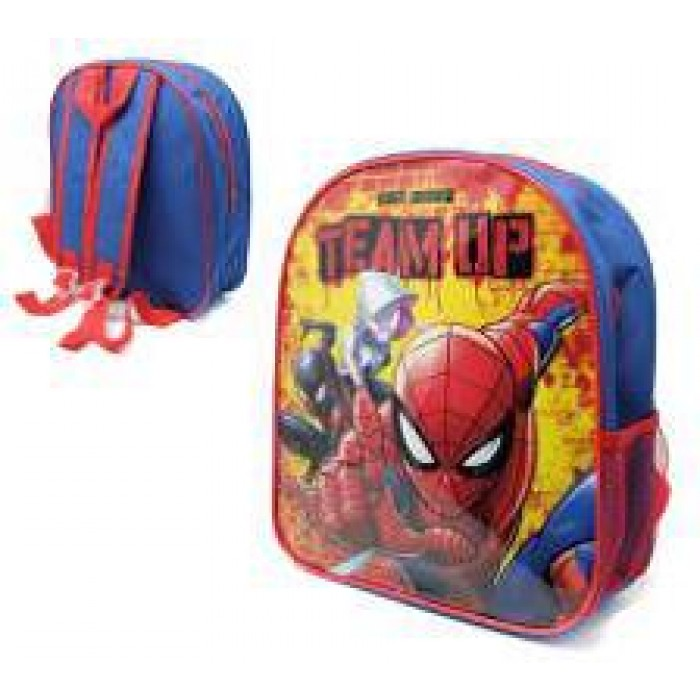 1000E29-9183 SPIDERMAN TEAM UP CHILDREN'S JUNIOR BACKPACK