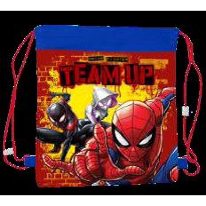 11055-9183 SPIDERMAN PULL STRING BAG