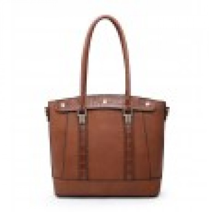 W6116 Shoulder Bag-Brown
