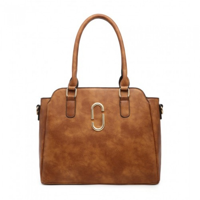 Z-9904 SHOULDER BAG-BROWN