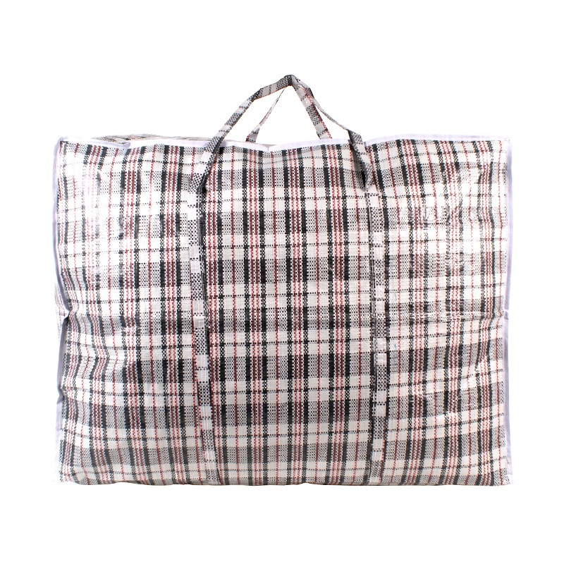 2472 BLACK CHECK LARGE LAUNDRY BAG