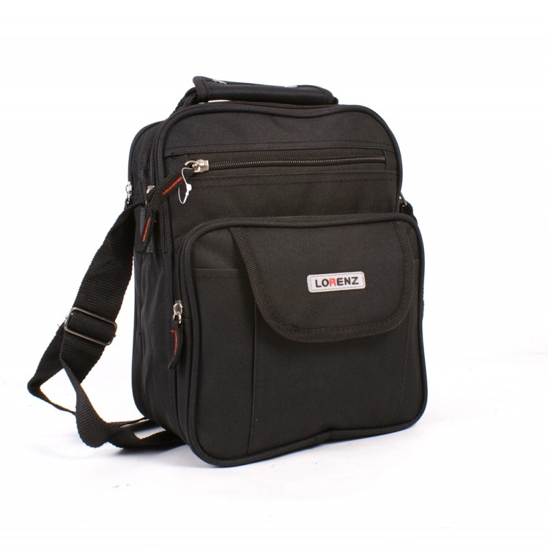 2573 BLACK  UNISEX POLYESTER BAG
