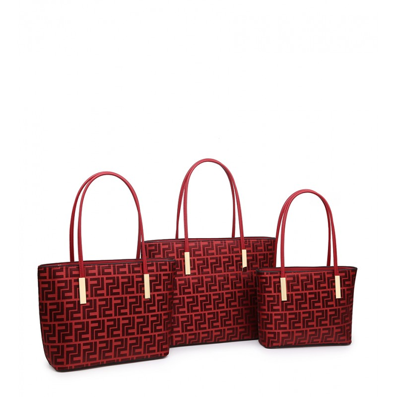 A36227-P red Set of 3