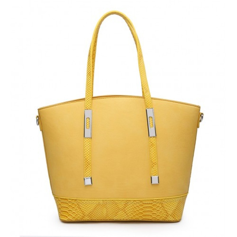 A36470 Handbag-Yellow