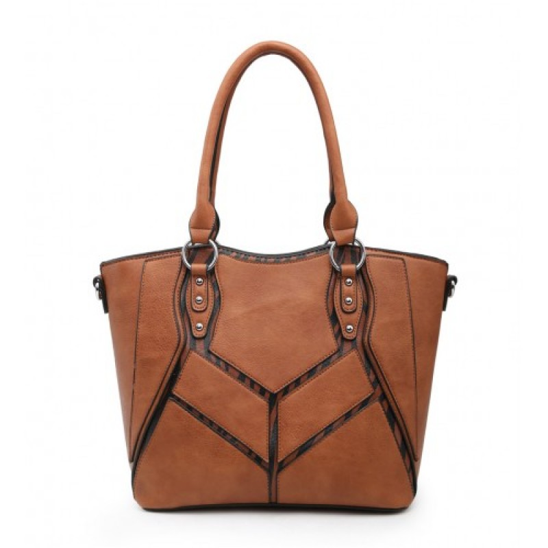A36576 SHOULDER BAG -BROWN
