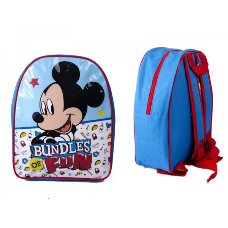 1029HV-7715 KIDS BACKPACK WITH MICKEY MOUSE