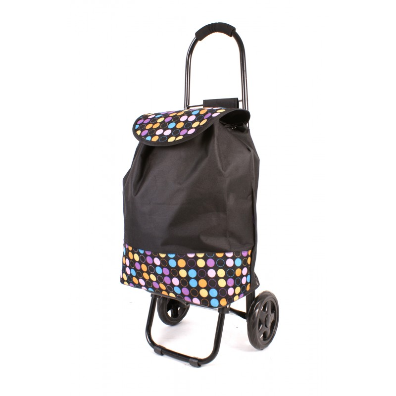 TSB-5012 BLACK MULTI POLKA DOT