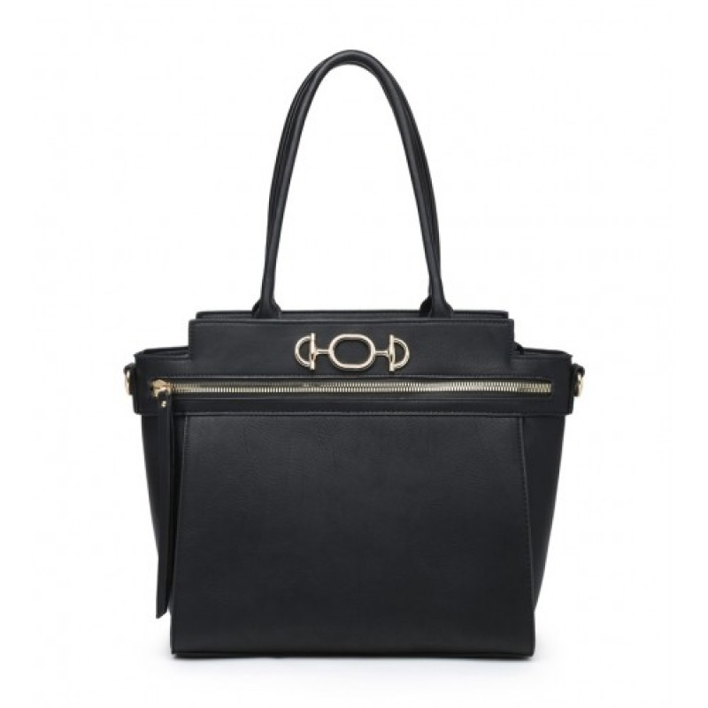 W6056 Shoulder bag-Black