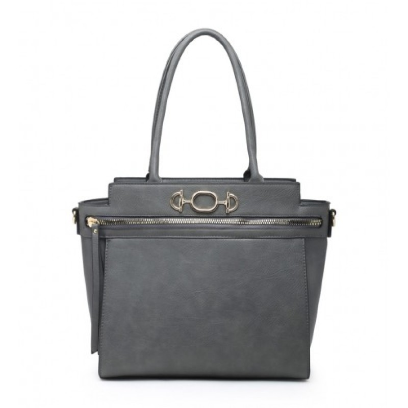 W6056 Shoulder bag-Grey