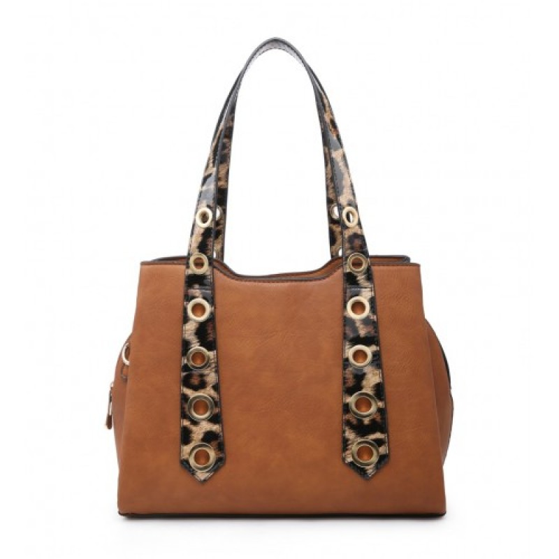 W6110 Shoulder Bag -Brown