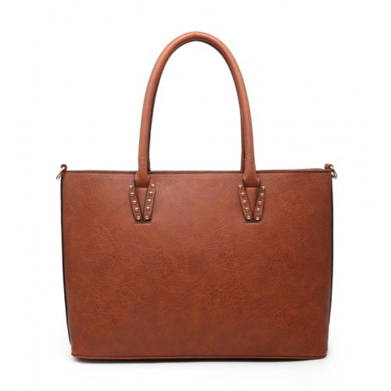 Z-9886 Shoulder Bag -Brown