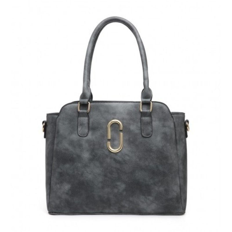 Z-9904 SHOULDER BAG-GREY